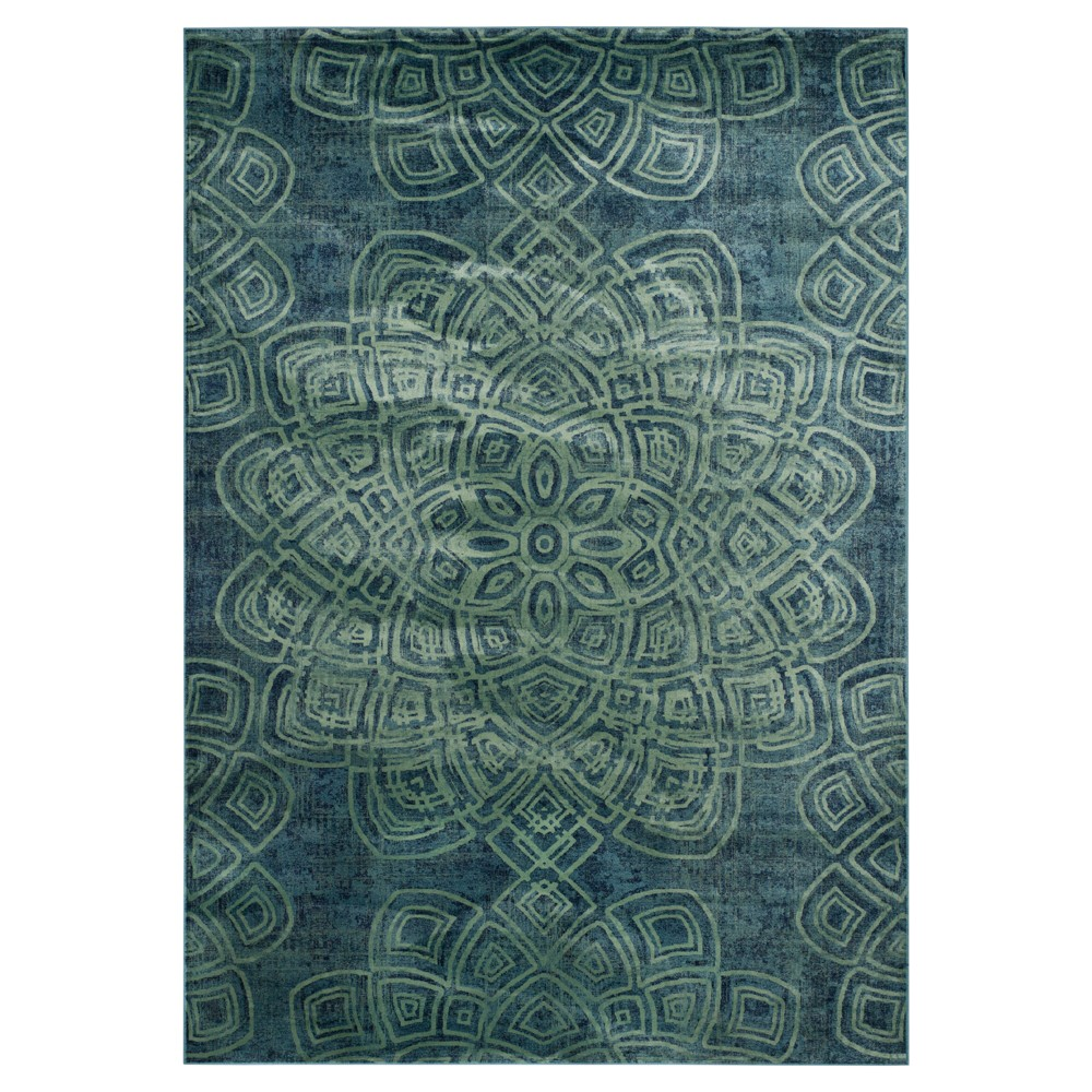 Constellation Vintage Rug - Light Blue/Multi - (8'10