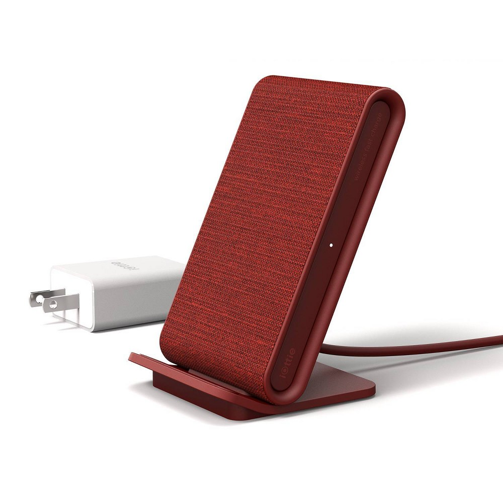 iOttie iON Wireless Stand Fast Qi Wireless Charger - Ruby (Red)