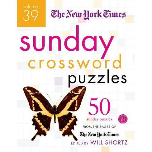 The New York Times Sunday Crossword Puzzles - (Spiral_bound) - image 1 of 1