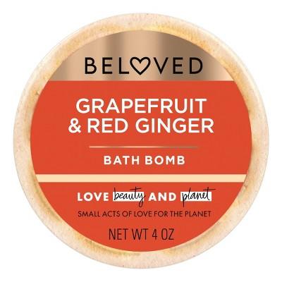 Beloved Grapefruit Oil & Red Ginger Bath Bomb - 1ct/3.9oz
