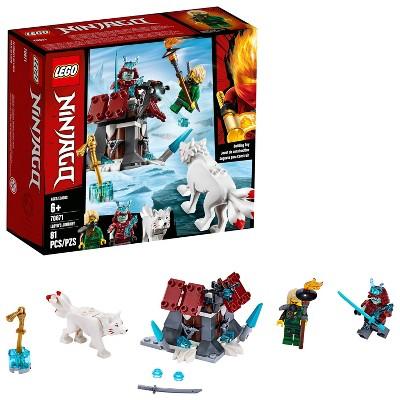 LEGO Ninjago Lloyd's Journey Toy Fortress Building Set with Lloyd Minifigure 70671