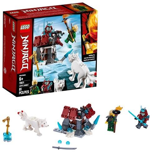 LEGO Ninjago Lloyd's Journey 70671 Toy Fortress Building Set with Lloyd  Minifigure 81pc