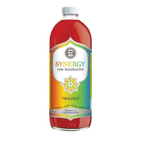 GT's Synergy Trilogy Organic Kombucha - 48 fl oz Bottle - image 1 of 3