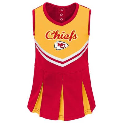 huge discount 90fb1 df8a8 NFL Kansas City Chiefs Infant/ Toddler In the Spirit Cheer Set