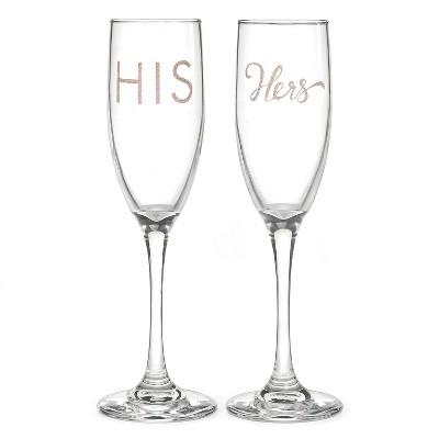 2ct His'& 'Hers' Drinkware set