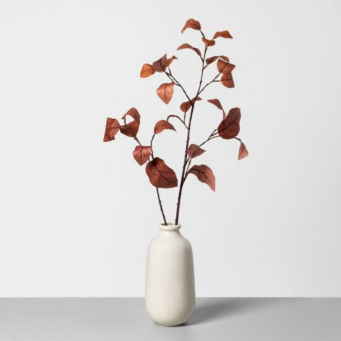 Faux Rust Aspen Leaves Arrangement - Hearth & Hand™ with Magnolia - image 1 of 2