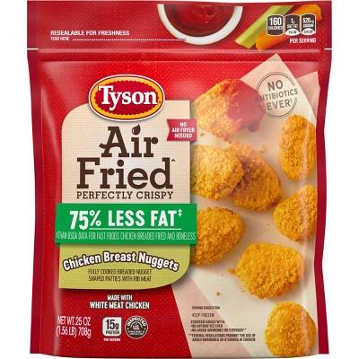 Tyson Air Fried Chicken Nuggets - Frozen - 25oz