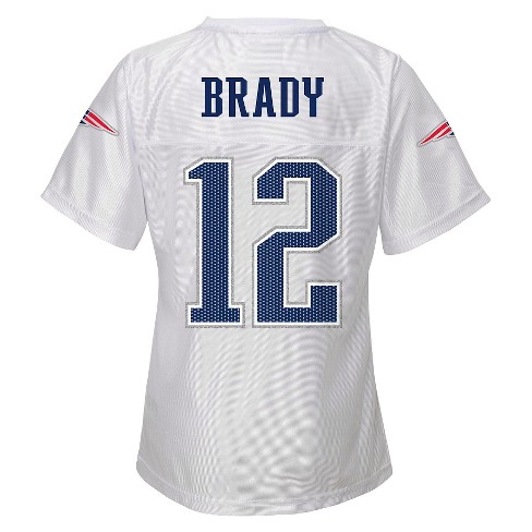 New England Patriots Girls White Jersey M   Target 34c4cb256