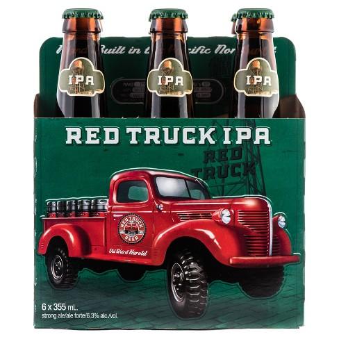 Red Truck IPA Beer - 6pk/12 fl oz Bottles - image 1 of 1