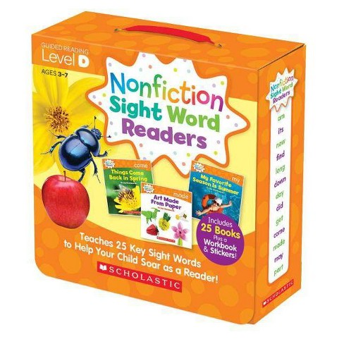 Nonfiction Sight Word Readers Parent Pack Level D - by  Liza Charlesworth (Paperback) - image 1 of 1