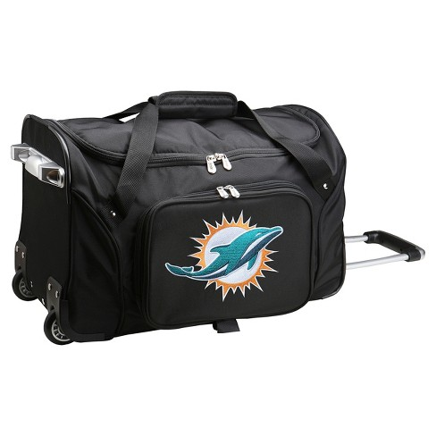 """NFL Miami Dolphins Mojo 22"""" Rolling Duffel Bag - image 1 of 2"""