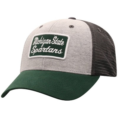 NCAA Michigan State Spartans Men's Gray Cotton with Mesh Snapback Hat