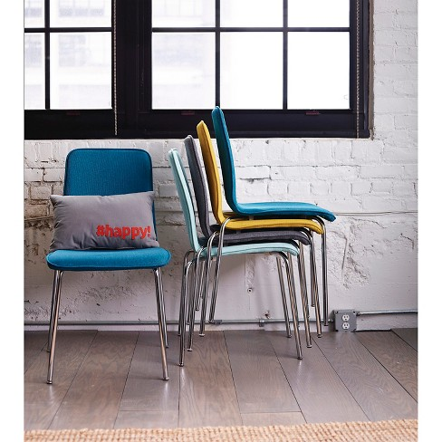 upholstered stacking chair set of 2 room essentials target