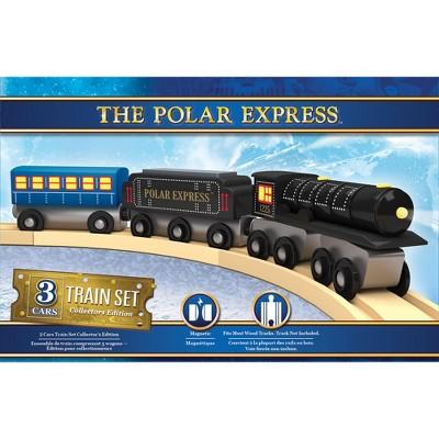 MasterPieces The Polar Express - Wood Toy Train Set