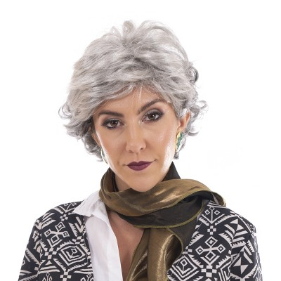 Toynk The Golden Girls Officially Licensed Dorothy Costume Cosplay Wig