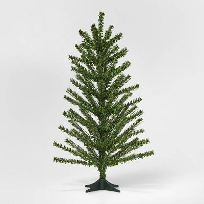 2ft Unlit PVC Artificial Christmas Tree Green - Wondershop™