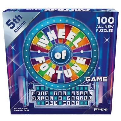 Pressman Wheel of Fortune 5th Edition Board Game