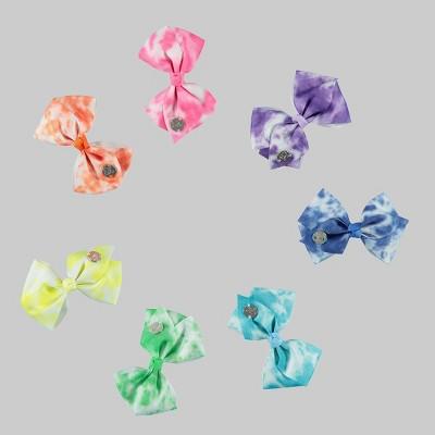 Girls' JoJo Siwa Tie-Dye 7pk Mini Bow Hair Clip