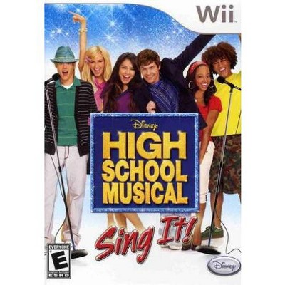 High School Musical: Sing It (Game Only) WII