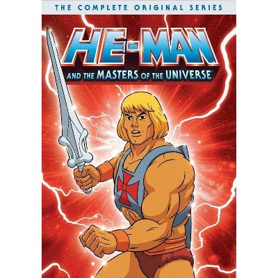 He-Man & The Masters of the Universe: The Complete Series (DVD)