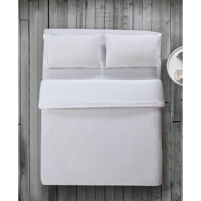 Lily NY Easy Care Ruffled Microfiber Bed Sheet Set