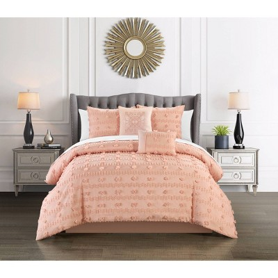 9pc Atisa Bed In a Bag Comforter Set - Chic Home Design