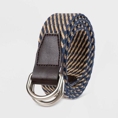Men's 35mm Stretch Web Belt - Goodfellow & Co™ Khaki