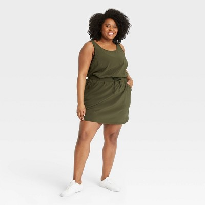 Women's Stretch Woven Dress - All in Motion™