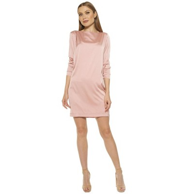 Alexia Admor Dakota Draped Sleeve Shift Dress