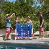 ECR4Kids Jumbo Four-To-Score Giant Game-Indoor/Outdoor 4-In-A-Row Connect - Red, White, and Blue - image 2 of 4