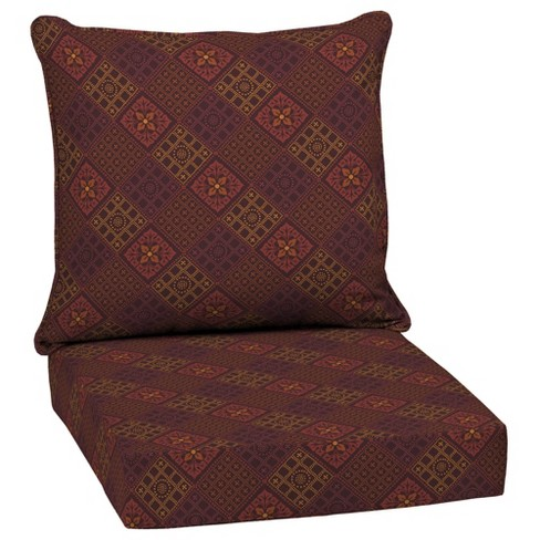 Azulejo Southwest Outdoor Cushion Set Red Arden Selections Target