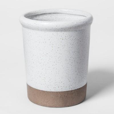 Stoneware Vase Speckled Glaze Small - Smith & Hawken™
