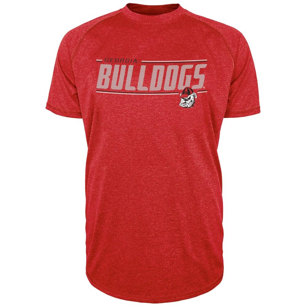Georgia Bulldogs Men's Team Speed Poly Performance T-Shirt M, Multicolored