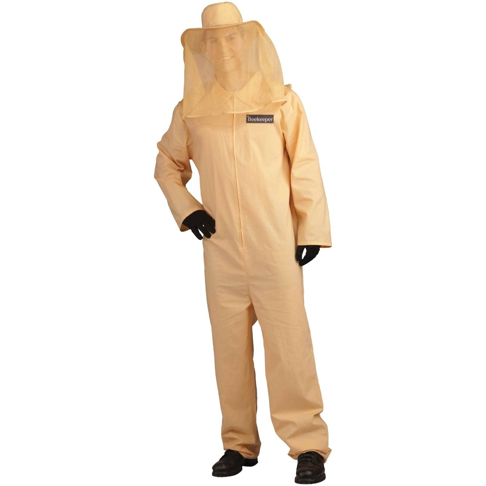 Men's Bee Keeper Costume One Size, Tan