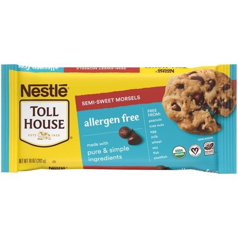 Nestle Toll House Allergen-Free Semi-Sweet Chocolate Morsels - 10oz - image 1 of 4