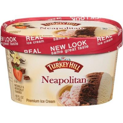 Turkey Hill Neopolitan Ice Cream - 48oz