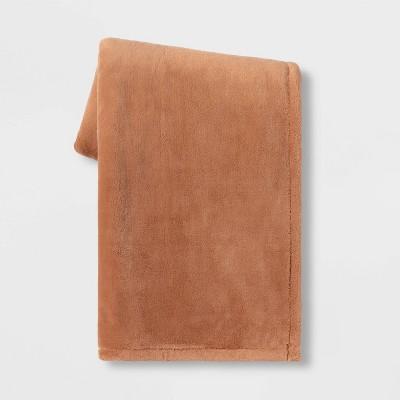 "50""x70"" Oversized Primalush Throw Blanket Clay - Threshold™"