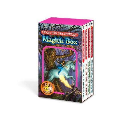 Magick Box - (Choose Your Own Adventure) by  Multiple Authors - Goodman Deborah Lerme & R a Montgomery (Hardcover)