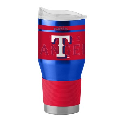 Texas Rangers Boelter 24oz Stainless Ultra Tumbler with Silicone Sleeve