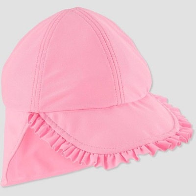 Baby Girls' Flap Swim Hat - Just One You® made by carter's Pink 12-18M
