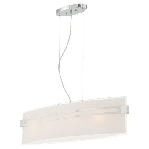Ceiling Lights Galena Pendant - Chrome - Lite Source - image 1 of 2