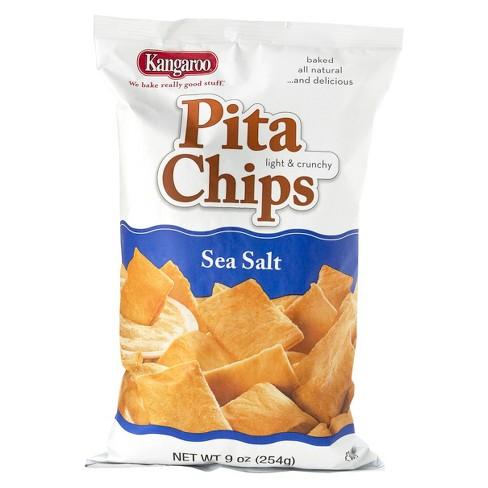 Kangaroo Sea Salt Pita Chips - 9oz - image 1 of 1