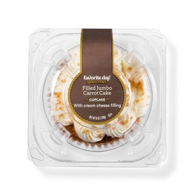 Carrot Cake Cream Cheese Filled Jumbo Cupcake - 6oz - Favorite Day™