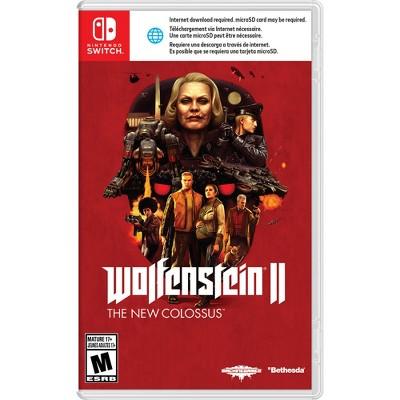 Nintendo Switch video games Wolfenstein II: The New Colossus