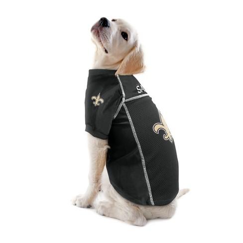dbb7088d2 New Orleans Saints Little Earth Pet Football Jersey - Black XL : Target