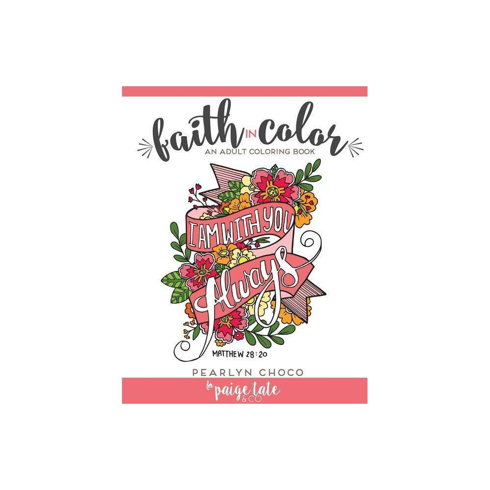 Faith In Color By Paige Tate Pearlyn Choco Paperback