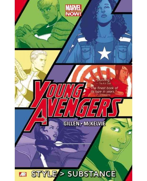 Young Avengers 1 : Style > Substance -  (Young Avengers) by Kieron Gillen (Paperback) - image 1 of 1