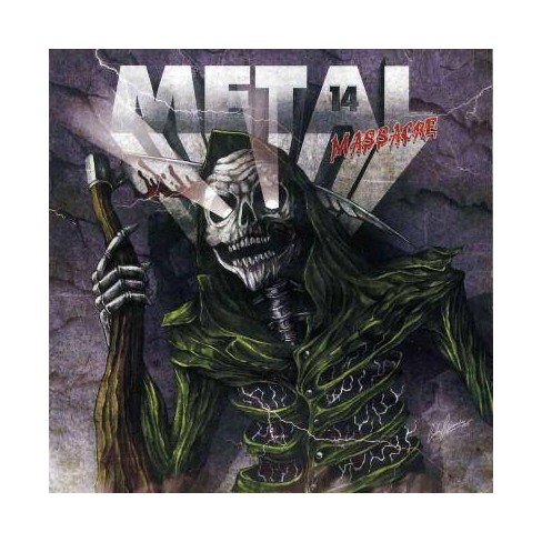 Various Artists - Metal Massacre 14 (CD) - image 1 of 1