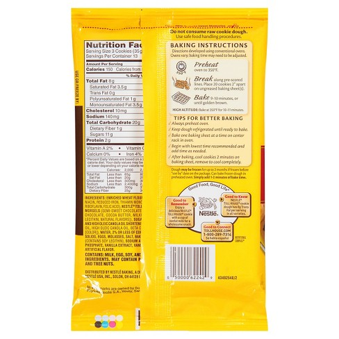 nestle toll house break and bake directions