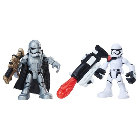 Star Wars Galactic Heroes Captain Phasma and First Order Stormtrooper - image 1 of 2